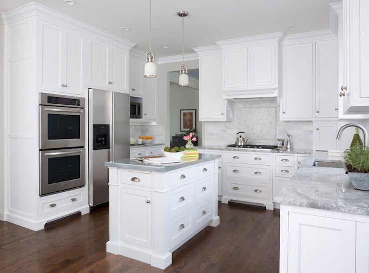 mb wilson interior design - kitchens - super white quartzite
