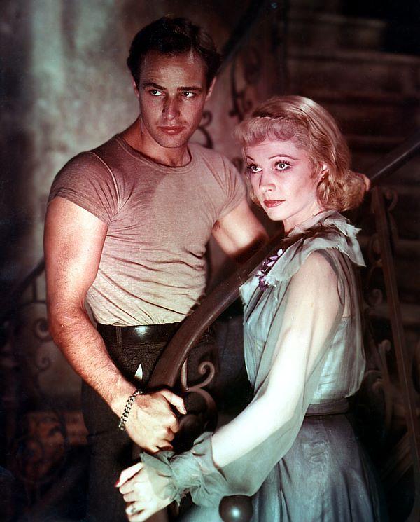 un tranvia llamado deso  Marlon Brando & Vivien Leigh