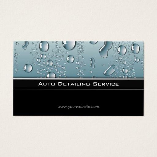 Auto detailing professional automotive car business card business auto detailing professional automotive car business card reheart Choice Image