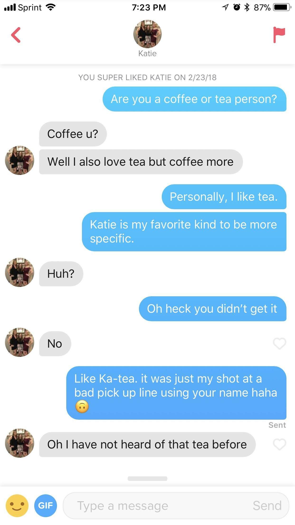 Pick Up Lines For Katie - Funniest Pick Up Lines