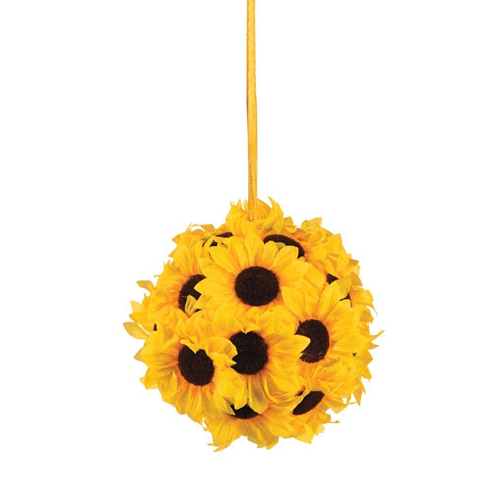 Pomander Sunflower Kissing Ball