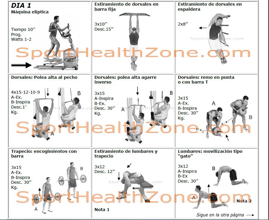 Rutina de ejercicios para bajar de peso y tonificar yahoo