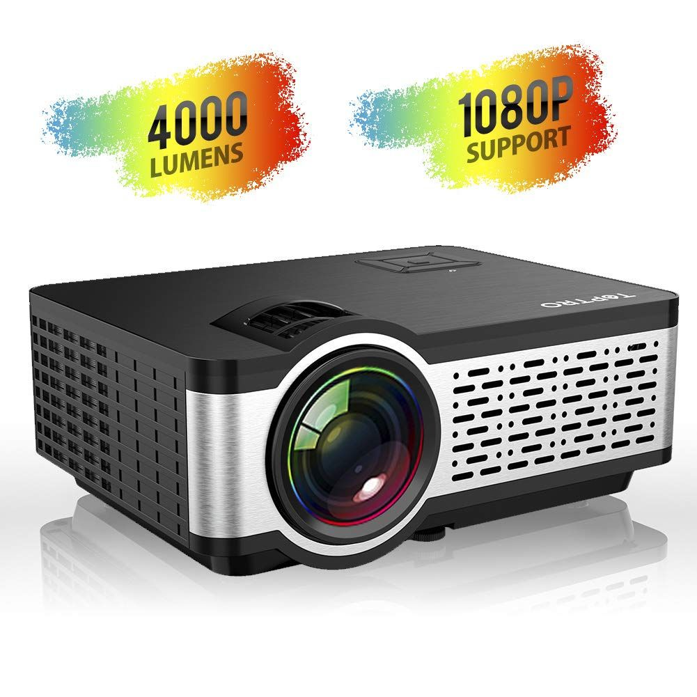 Work Great Or Fail For Toptro Video Projector Portable Mini Projector With Stereo Sound Mini Projectors Projector Video Projector