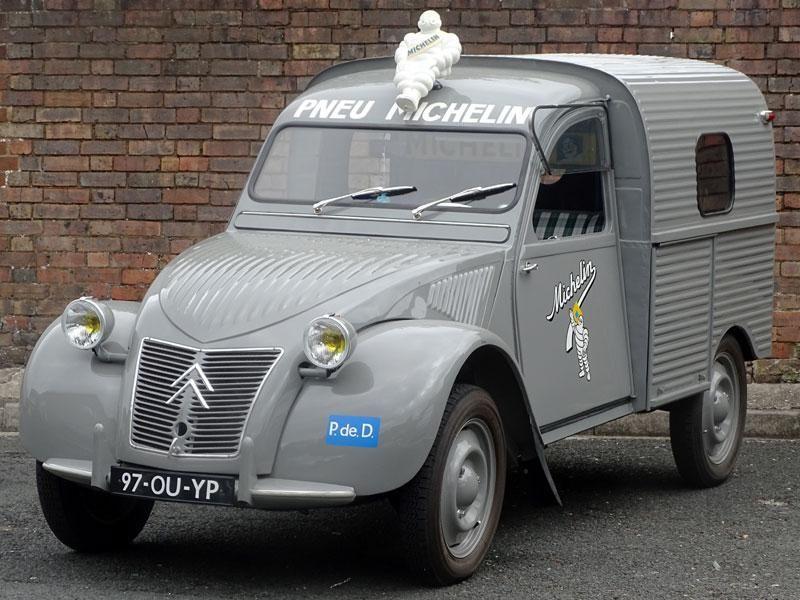 Michelin 2cv Citroen 2cv Voiture Citroen