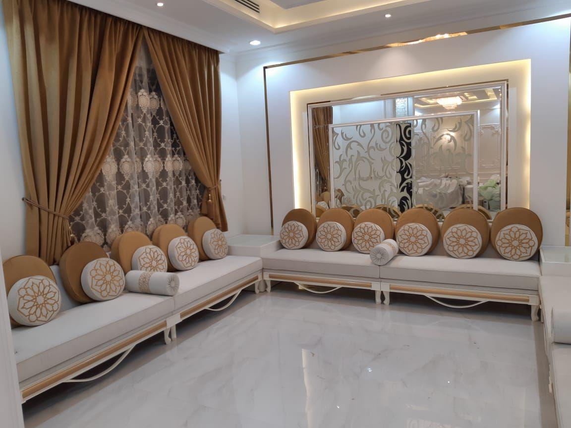 كنب نيو كلاسيك من تصميم وتنفيذ جلستي المطرزة جوال التواصل0506711821 Love Home Contemporary Kitchen Home
