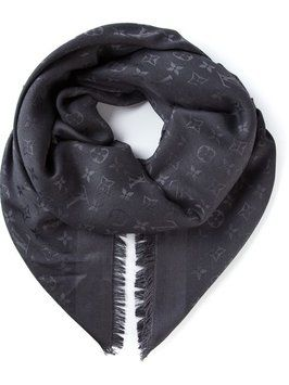 955f108c0 Get the lowest price on Louis Vuitton monogram scarf/wrap black NWT and  other fabulous designer clothing and accessories! Shop Tradesy now