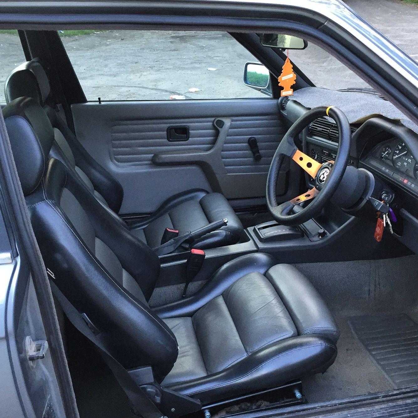 Bmw M3 Interior: Bmw E30 Interior Recaro And OMP
