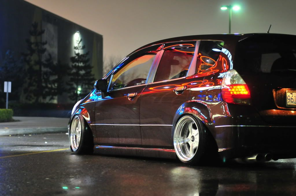 *9UP* Air'd Out Honda Fit GD3 Honda fit, Honda, Sports