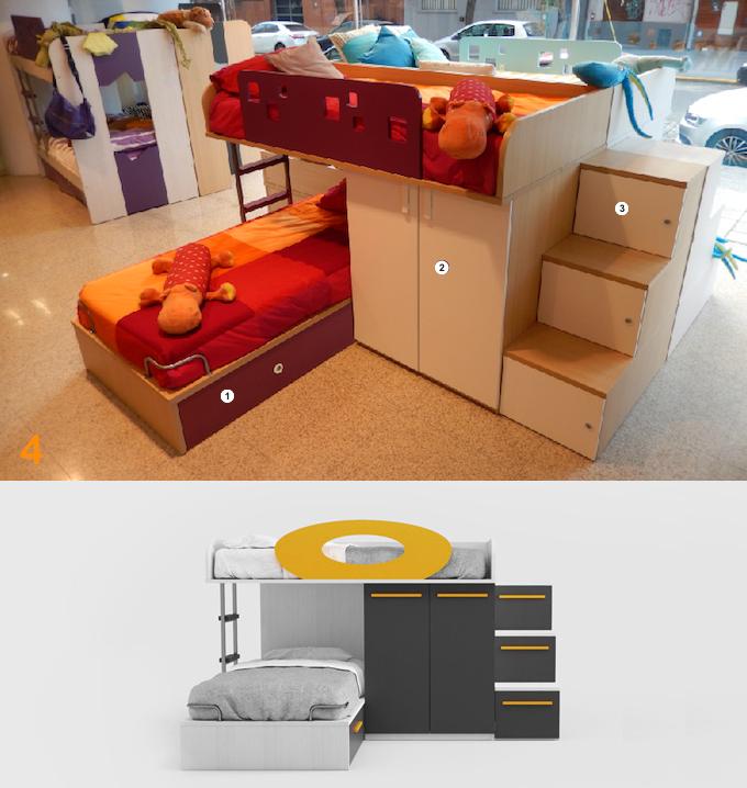 Escritorio nena cama dormitorio pieza habitacion juvenil for Silla escritorio infantil
