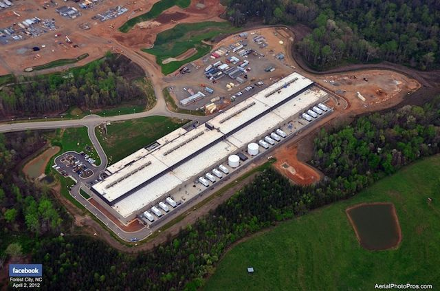 Facebook S North Carolina Data Center Goes Live Forest City