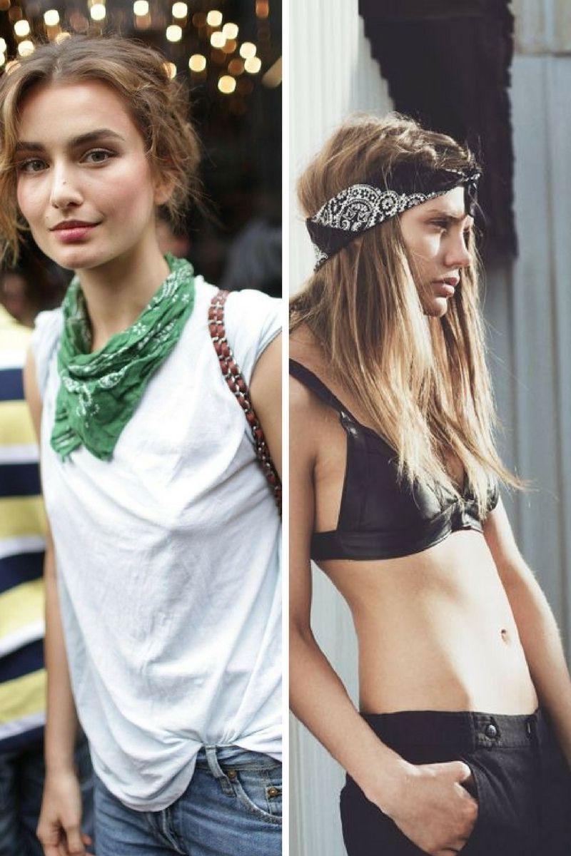 1001 Ideas Sobre Distintas Formas De Ponerse Un Pañuelo Moda Moda Para Mujer Moda Hippie