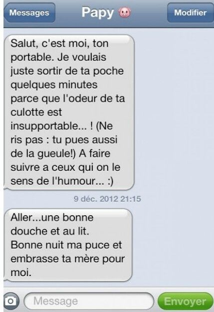 Chaine Sms A Envoyer Message Hilarant Message Drole Sms Texto Droles