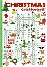 English worksheet christmas crossword madisons pinterest english worksheet christmas crossword ibookread Read Online