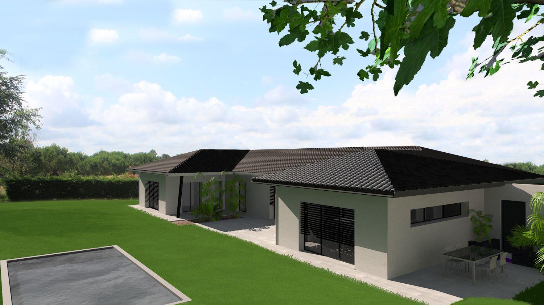 Plan Maison Architecte Maison Contemporaine De Plain Pied En C