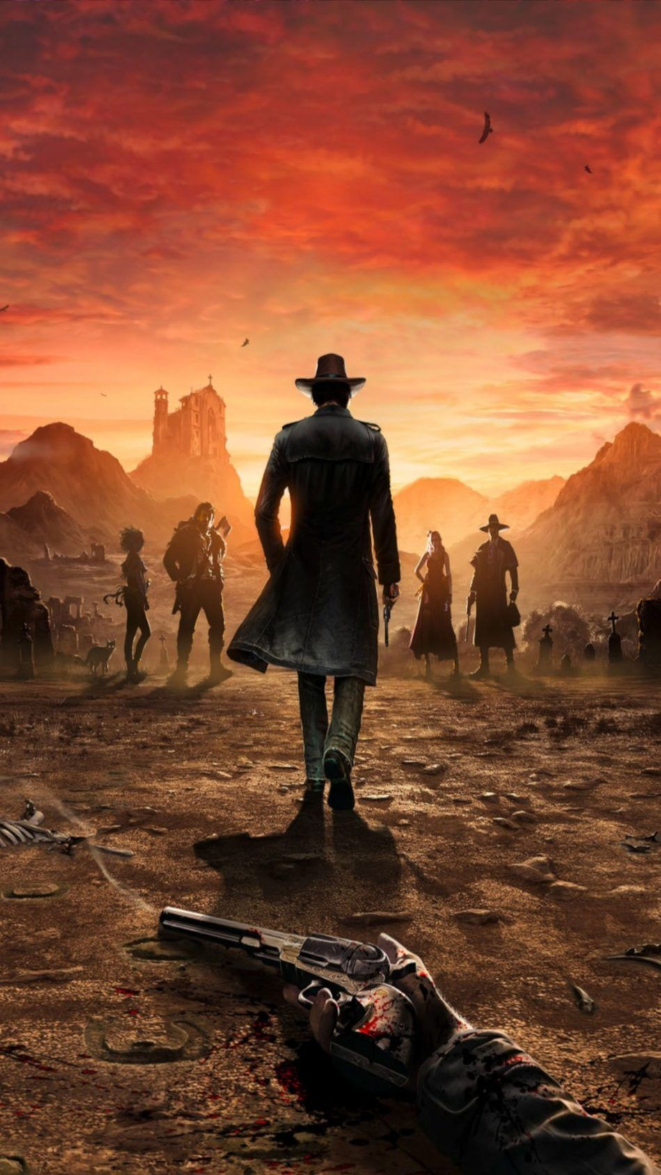 Desperados Iii 2018 Poster Red Dead Redemption Artwork Red Dead