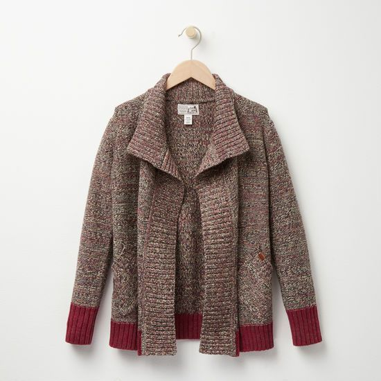 Roots - Girls Roots Cabin Waterfall Cardigan   Roots   Pinterest ...