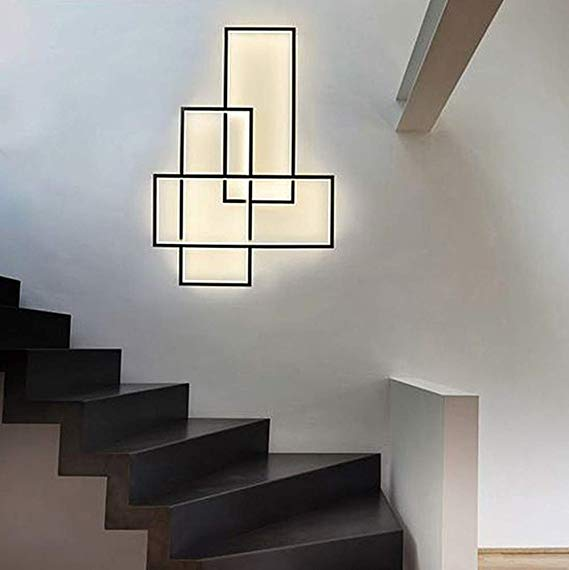 Dimmable Led Corridor Staircase Background Wall Sconces Light