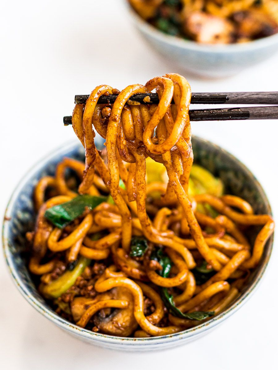 Yaki Udon Stir Fried Udon Noodles Recipe Udon Noodles Stir Fry Fried Udon Asian Recipes