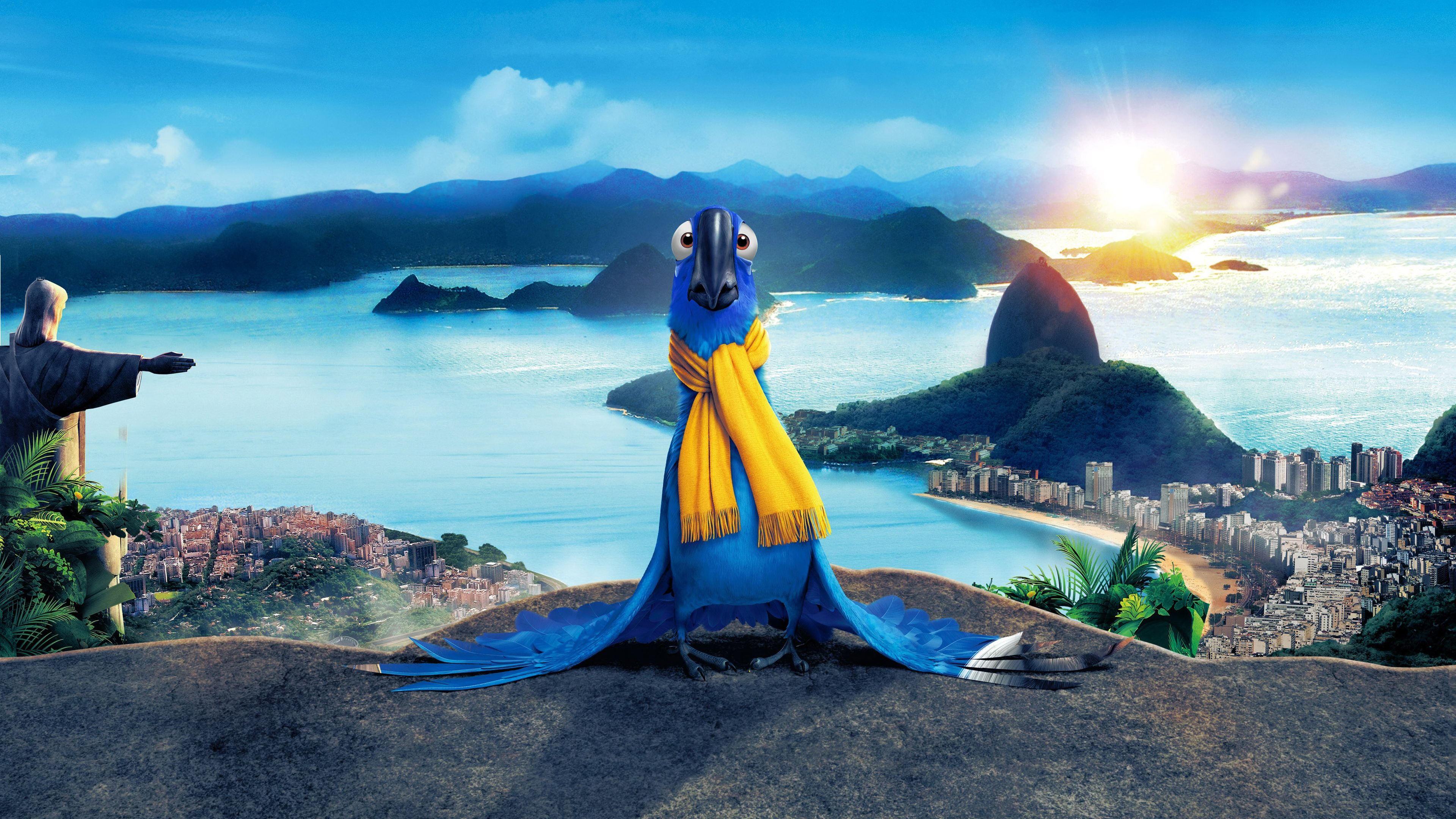Click here to download in hd format rio blu httpwww blu in modeling pose in movie rio wallpaper voltagebd Choice Image
