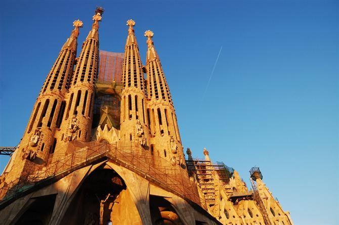 Barcelone - Sagrada Familia (Catalogne - Espagne)
