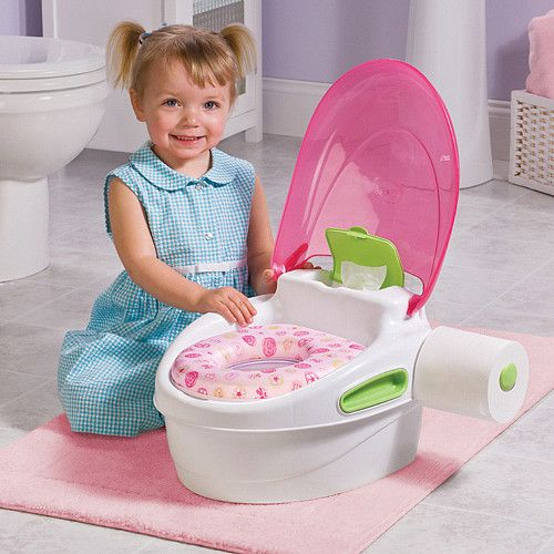 Pink 3 In 1 Potty Chair Seat Amp Stool Love This I Think