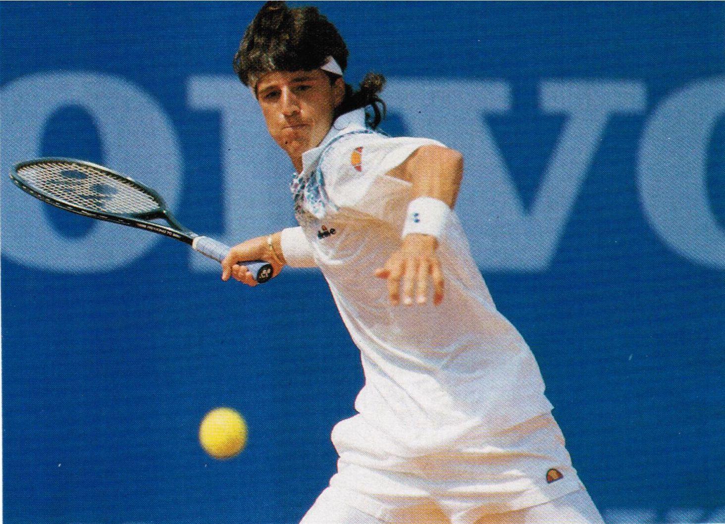 Aaron Krickstein - 1980S Tennis - University Liggett -4775