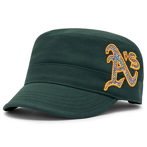 official photos 236ac 261a3 Oakland Athletics Women s Cabaret Military Adjustable Cap by  47 Brand - MLB.com  Shop