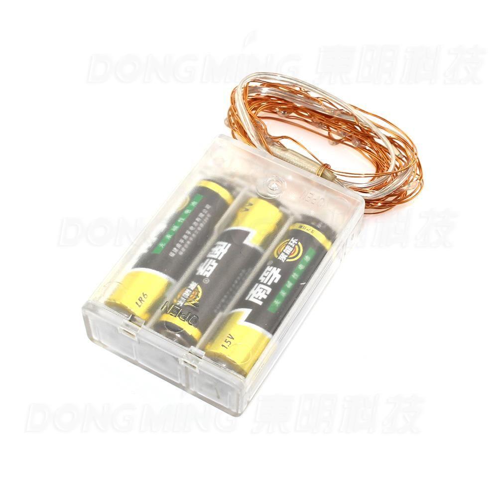 HOT Waterproof 2m 20 LED Christmas Light AA Battery Operated LED ...