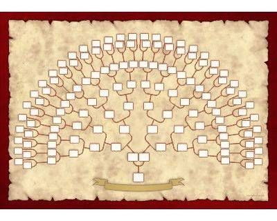 ancestor tree template