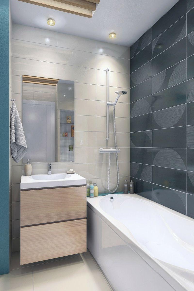 Salle De Bain Rangement Mural ~ petite salle de bains avec wc 55 id es de meubles et d co r ussis