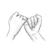 Zeichnungen von Händen - Bleistift & Illustration [Kostenloser Download]
