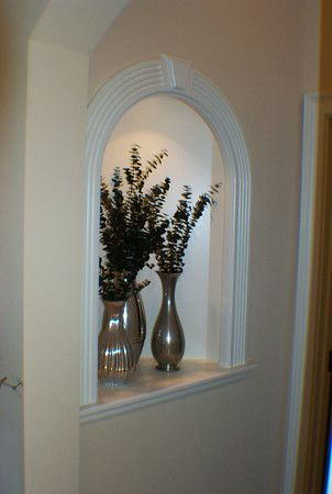 incredible living room alcove decorating ideas | wall niche | Niche decor, Entryway decor, Alcove decor