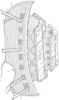 Jan Brett...Free On Noah\'s Ark - Ark Coloring Page | church ...