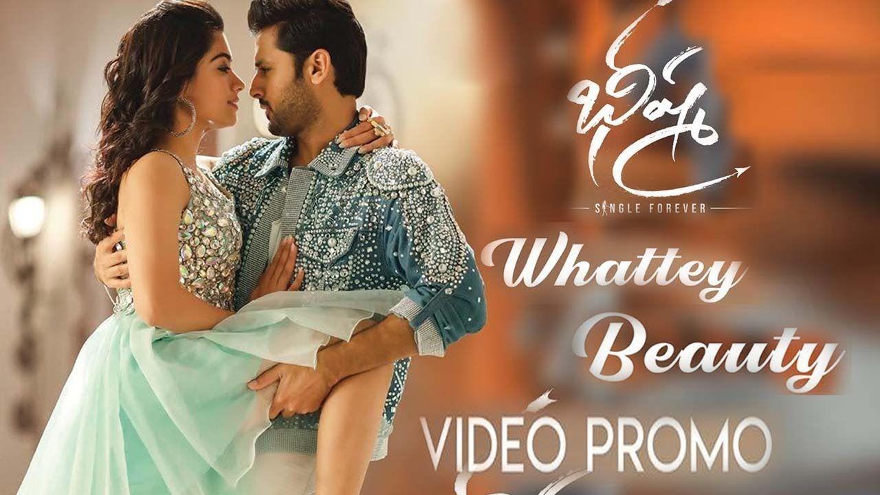 Whattey Beauty Song Video Promo Bheeshma Movie Nithiin Rashmika Ma In 2020 Movies Beauty Videos Beauty