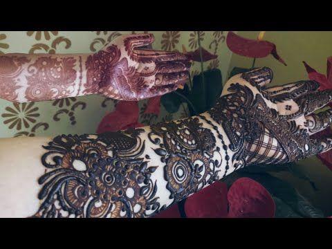 Khaleeji Henna Design 8 Heena Vahid Youtube Henna Henna