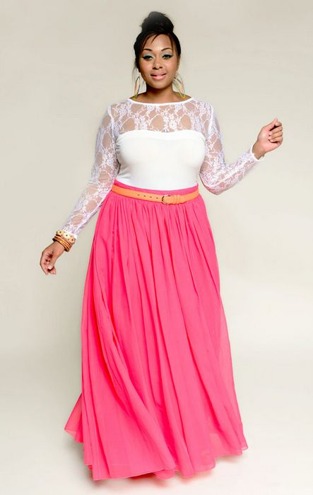 Plus Size Designer Youtheary Khmer: YK Empress Maxi. Give me a 3/4 sleeve and the top in turquoise and I'm there.