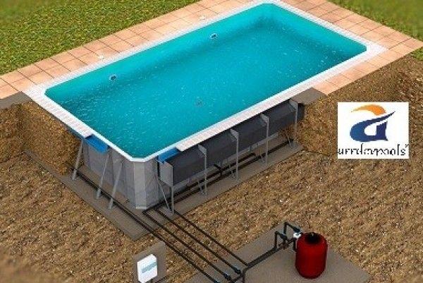 Pin Von Ready Made Auf Swimming Pool Pads Wade Pools Summer Fun Pool Ideen Gartenpools Schwimmbäder Hinterhof