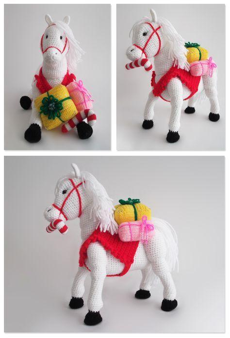 PDF Crochet Horse Pattern Croc   Tejido en 2018   Pinterest ...