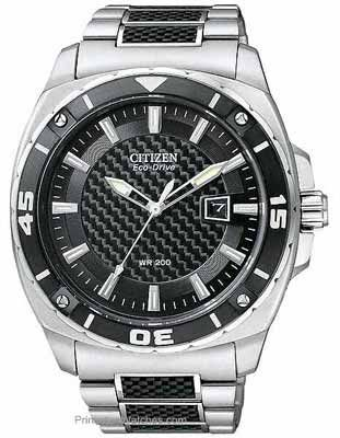 citizen eco drive watch carbon fiber inlay aw1090 58e my citizen watch men s eco drive stainless steel and black carbon fiber bracelet men s watches jewelry watches macy s