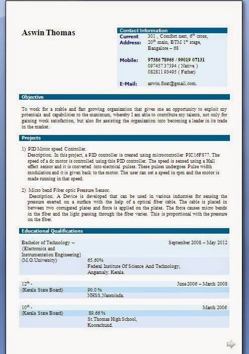 college resumes examples Sample Template Example of Excellent - resumes format