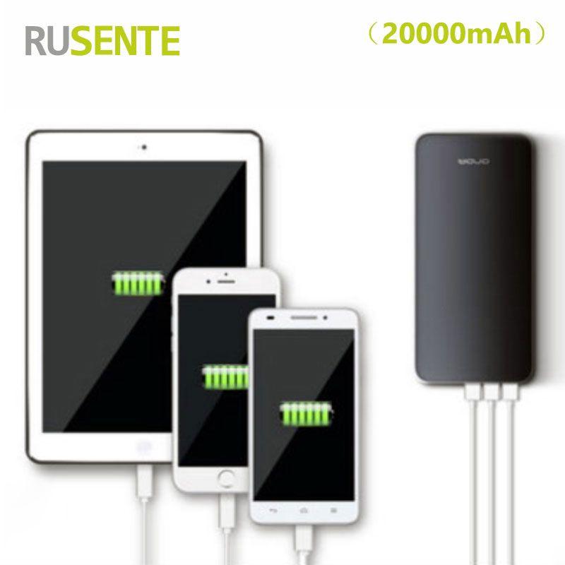 High Quality Universal 3usb 20000mah Power Bank External Bateria Charger For Iphone Samsung Xiaomi All Smartphone Smartphone Price Powerbank Smartphone