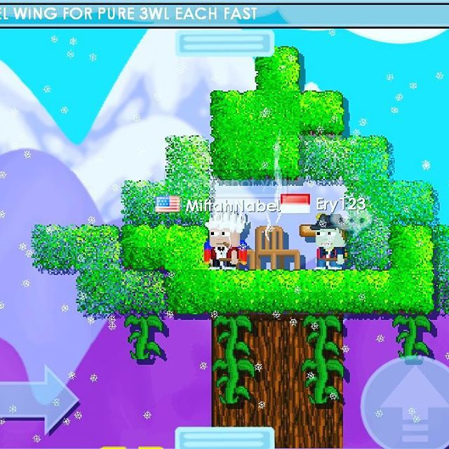 From Up Of The Treehouse Growtopia Treehouse Gt Gt Gt Lv14 Hastag Game Pixel Sandbox Gt Indonesia Gamerboy Gamer Treehouse Tree House Game R Games