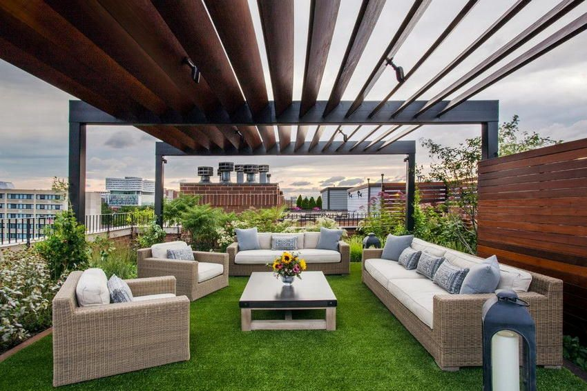 Awe-inspiring Rooftop Deck and Terrace Design Ideas