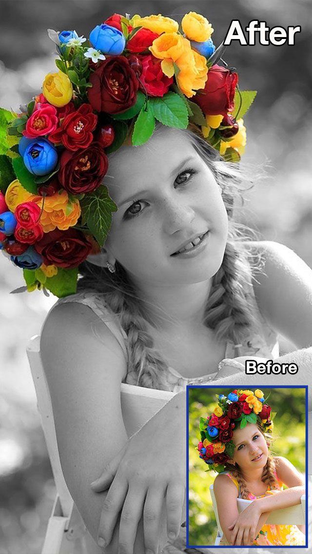 Color Recolor Effects Photo Splash FX and Paint