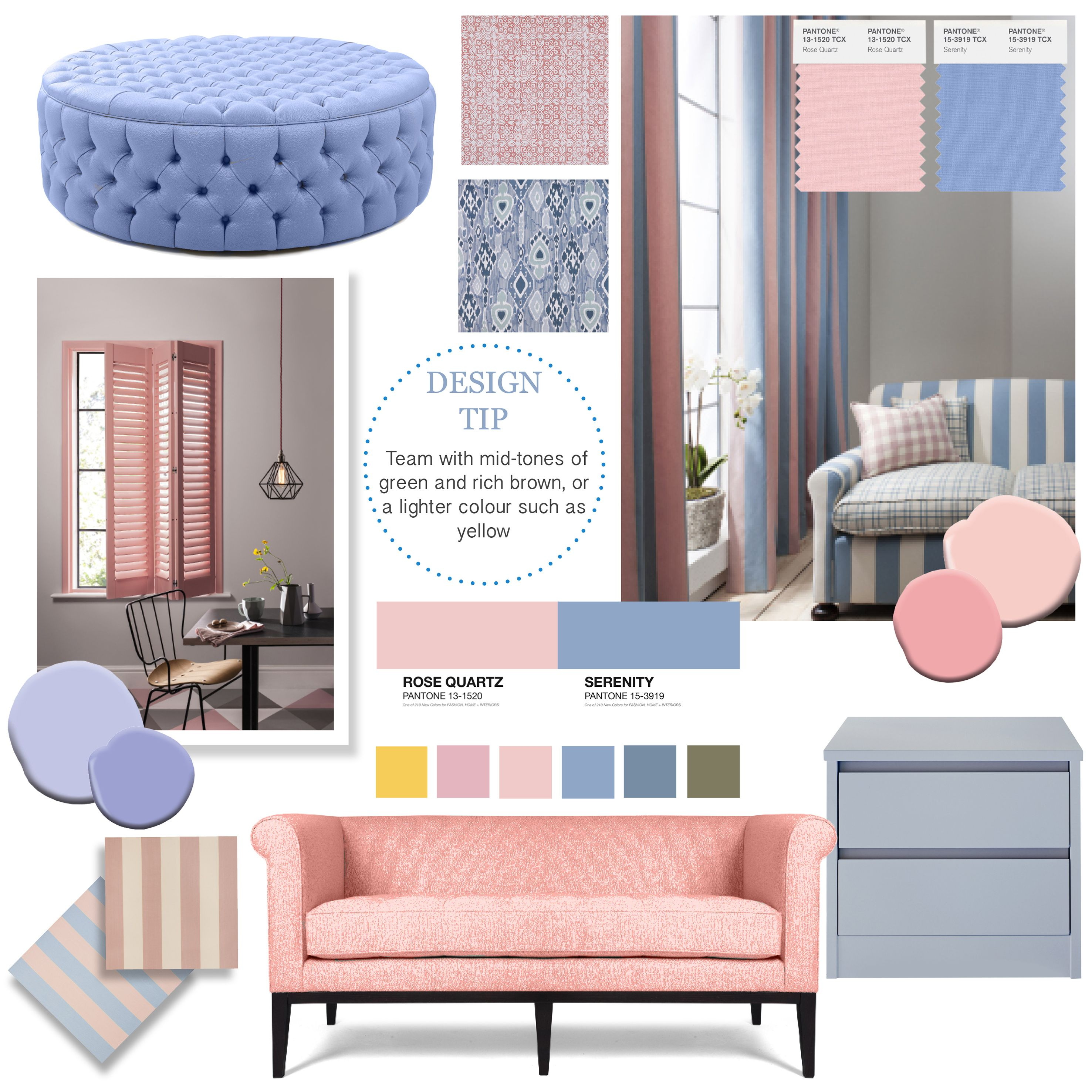 Introducing Pantone S Colour S Of The Year Rose Quartz And Serenity We Ve Written A Blog All About The Colours Rose Quartz Serenity House Interior Interior