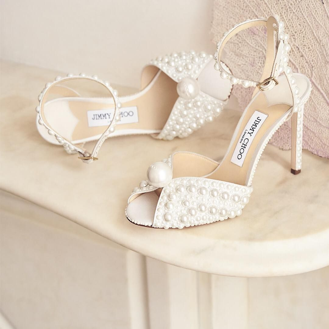 Pearl shoes, Sparkly wedding shoes