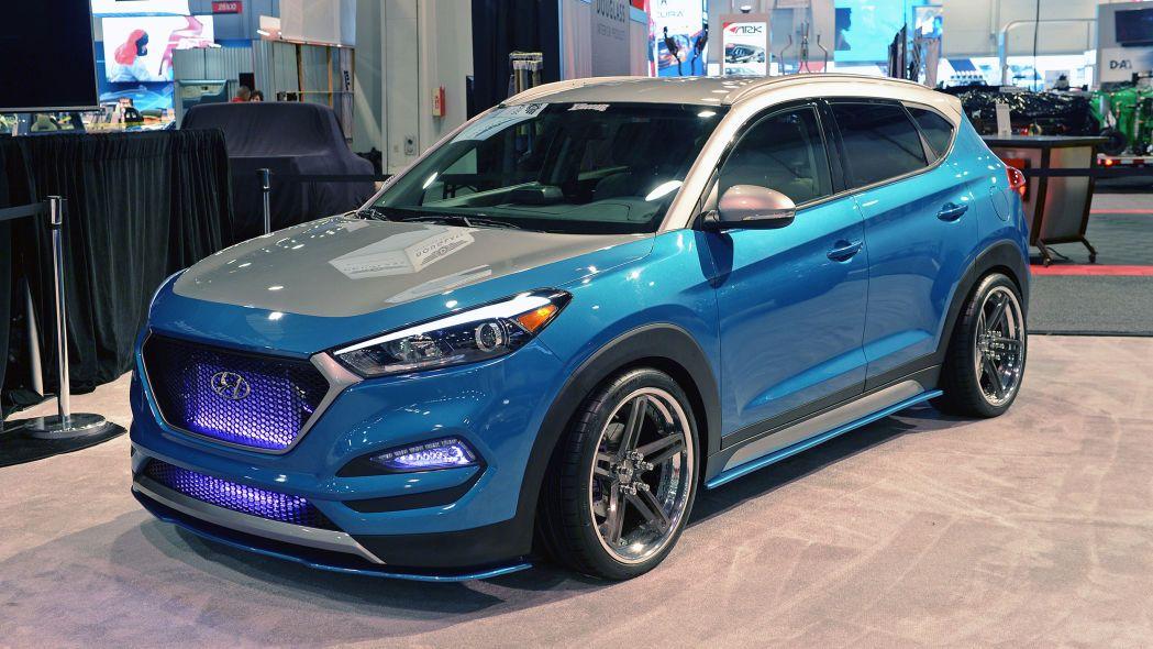 Vaccar Hyundai Tucson Sport To Be Shown At Sema Hyundai Tucson Hyundai Tucson