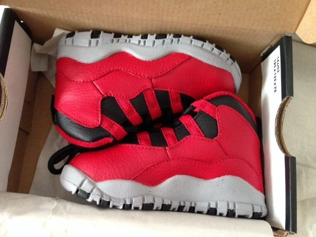 328ce7629e Bulls Over Broadway Jordan Retro 10 Boys  Valentine Release Date Toddler  4C-10C  Jordan  Athletic