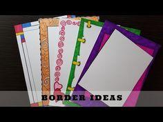 Pin by nazwa mostafa on border design creative video also rh pinterest