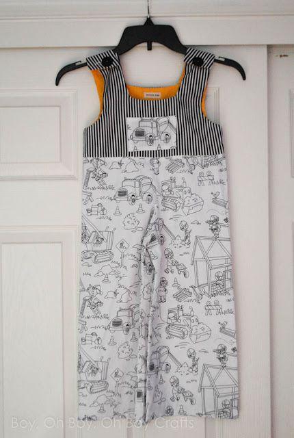 Free boys overall pattern   Sew for Boys   Pinterest   Nähen für ...